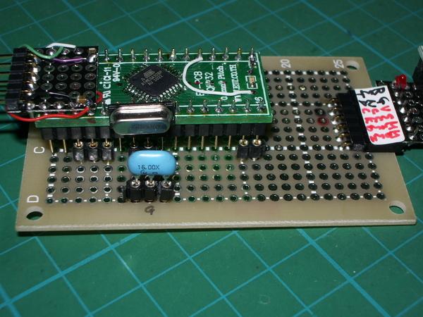 FTDI Bitbang Mode AVR-Writer 4 TQFP32 & ET-PCB-TQFP32: momo