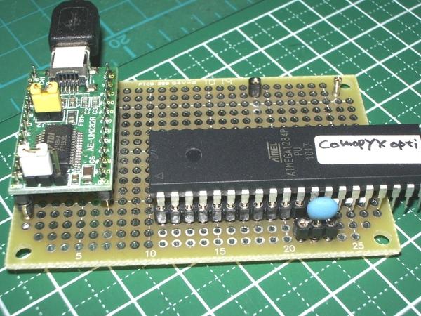 FTDI Bitbang Mode AVR-Writer 4 mega8u2 & ET-PCB-TQFP32